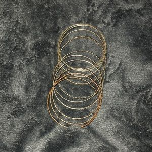 Golden ring bracelets